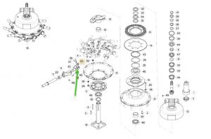 57700410 rotor rulman bağlantı dökümü