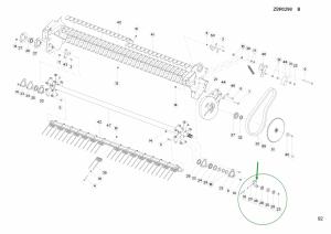 Z4099910 – Pikap rulman yatağı (komple)