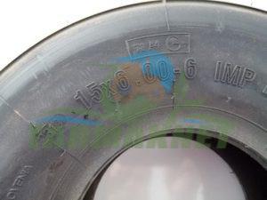 Balya makinesi ön pikap lastiği 15-6-6 lastik