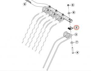57717410 Tırmık Teli Bağlantı Dökümü