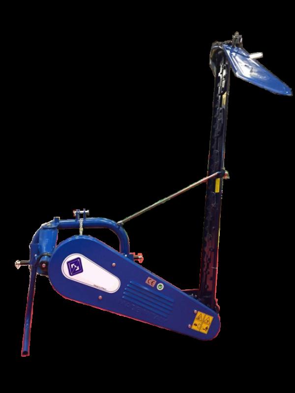 zıpkalı çayır biçme makinesi